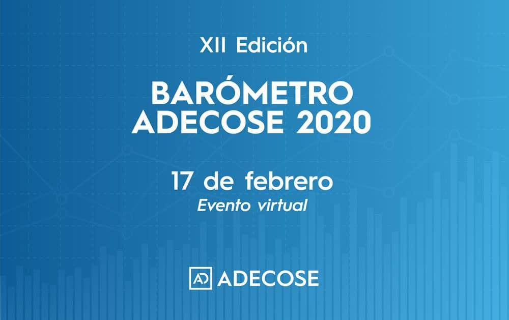 ADECOSE presentará los resultados del Barómetro 2020 el 17 de febrero