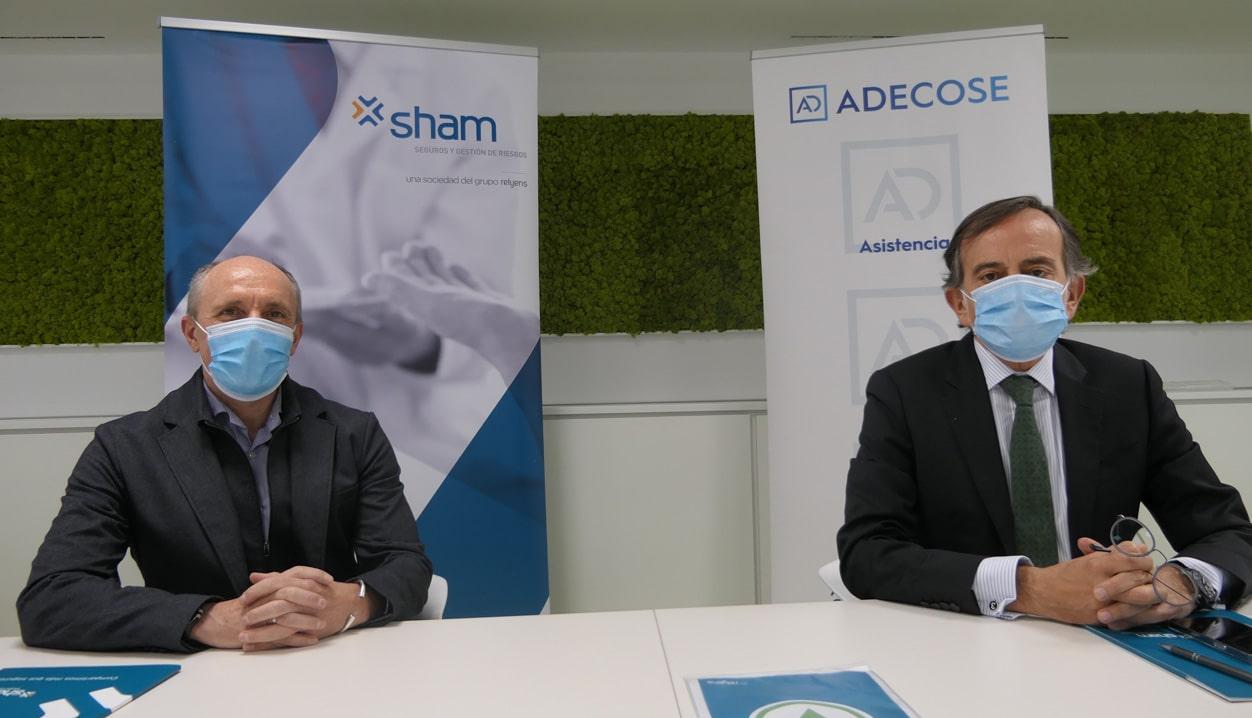 SHAM y ADECOSE firman un acuerdo de colaboración institucional