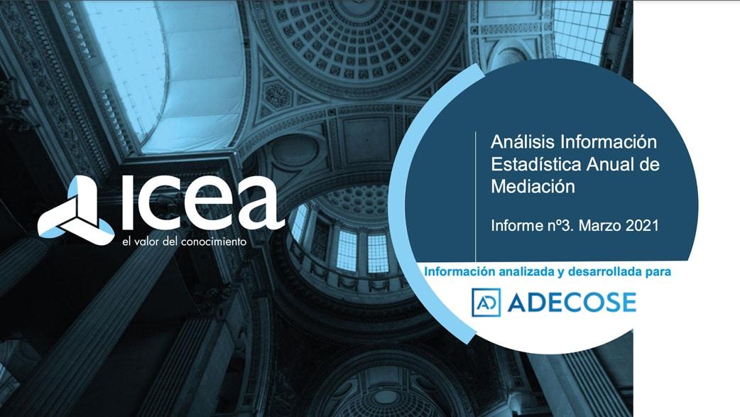 ADECOSE presenta el Estudio Sectorial de la Mediación 2021