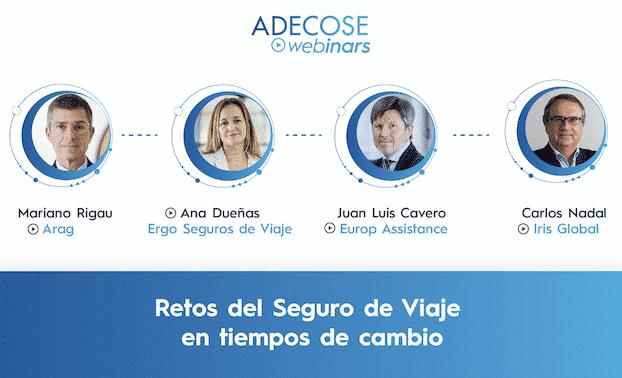 Los líderes de ARAG, ERGO Seguros de Viaje, Europ Assistance e Iris Global abordan la evolución del seguro de viajes tras la pandemia